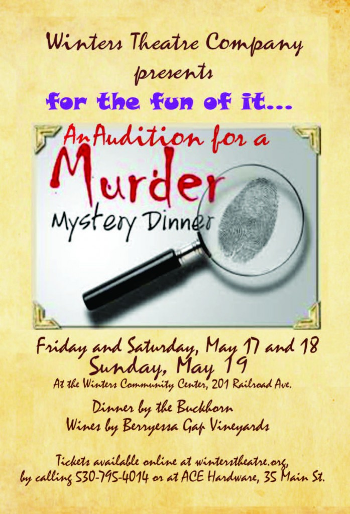 audition for a murder graphic